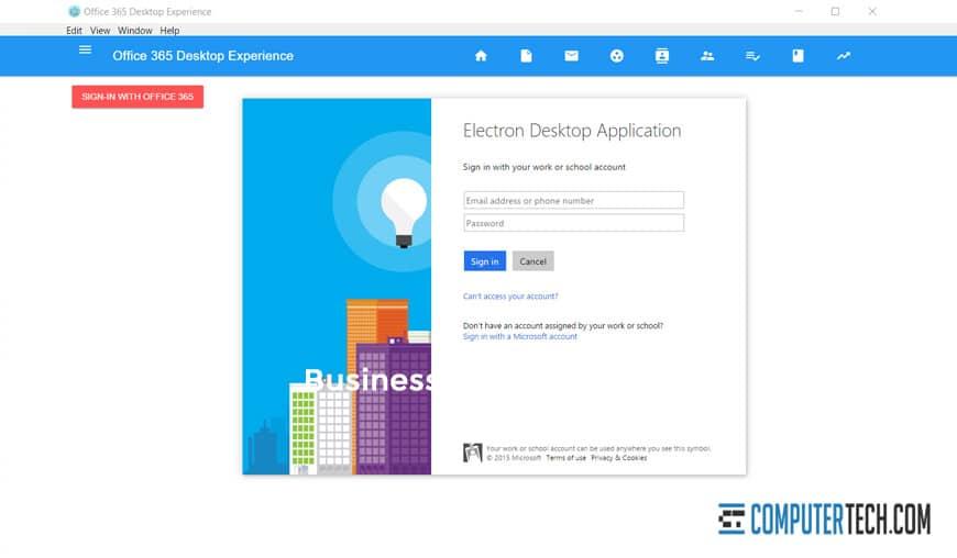 365 Desktop App
