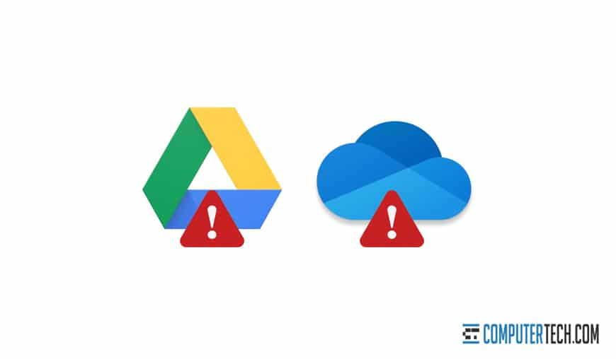 Google Drive and One Drive
