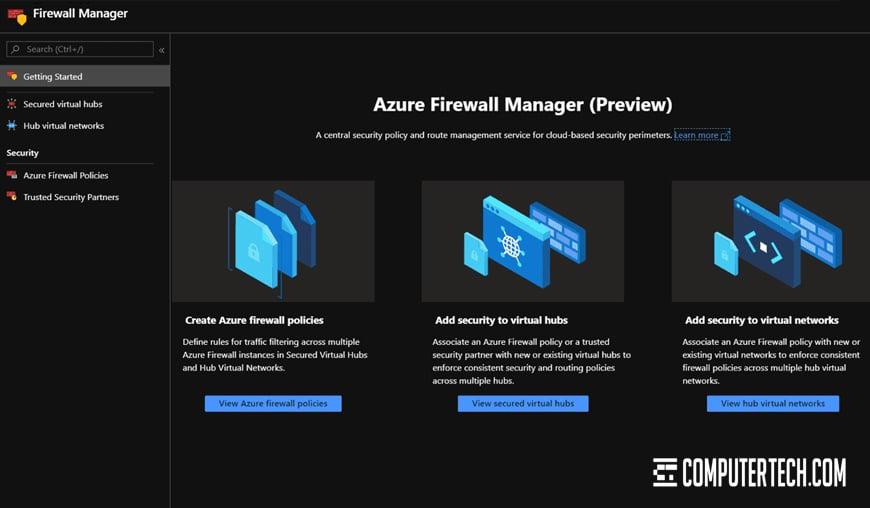 Azure Firewall Configuration