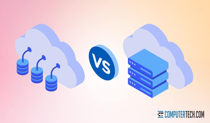 Cloud Computing vs Storage