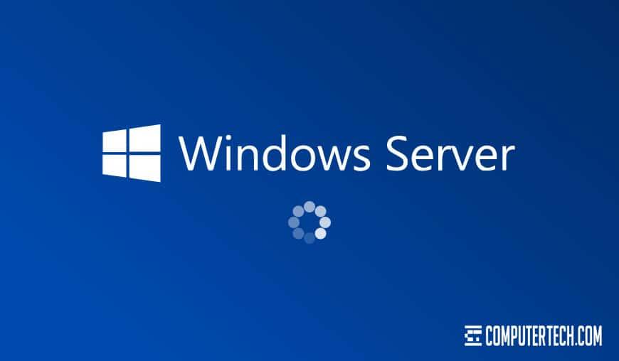 Slow Windows Server