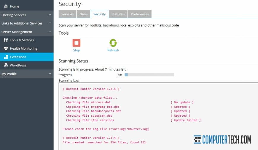 Virus Scanning on Server
