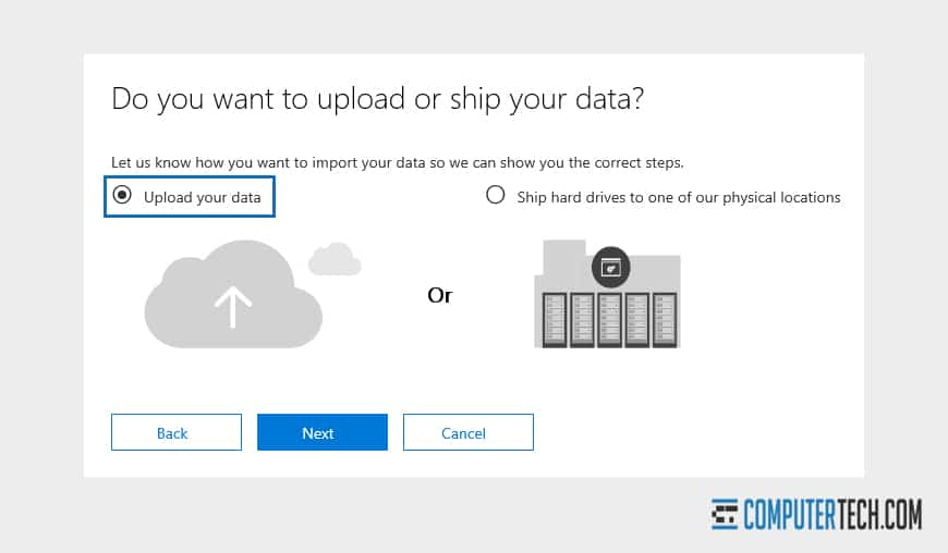 Importing Data to Office 365