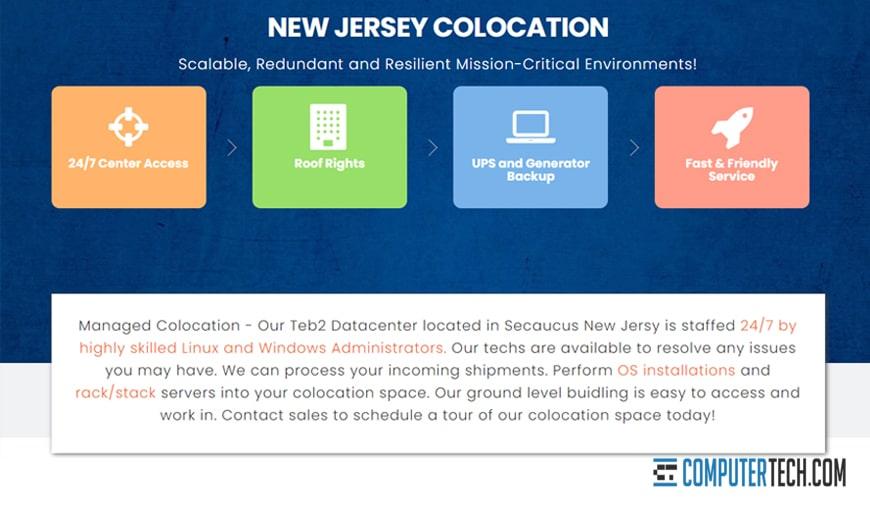 Interserver Colocation NJ