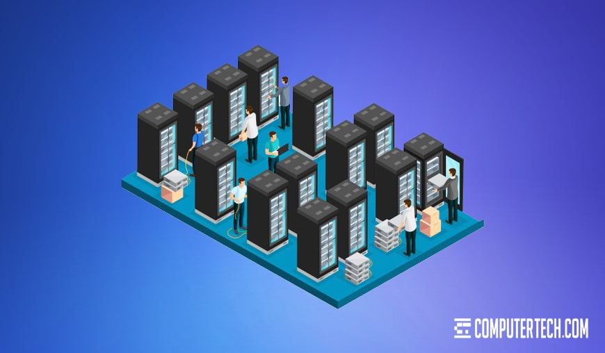 Remote IT Illustration